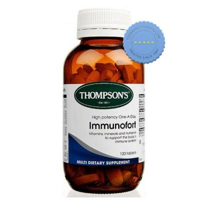 Buy Thompsons Immunofort 60 Tablets - Prompt Dispatch