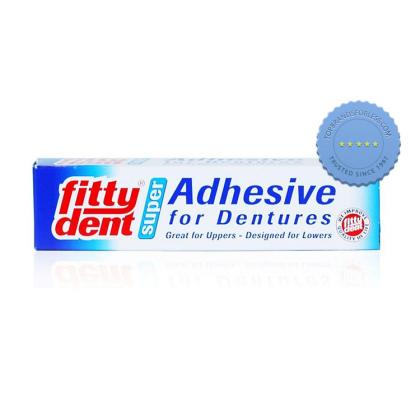 Buy Fittydent Super Denture Adhesive 40g -