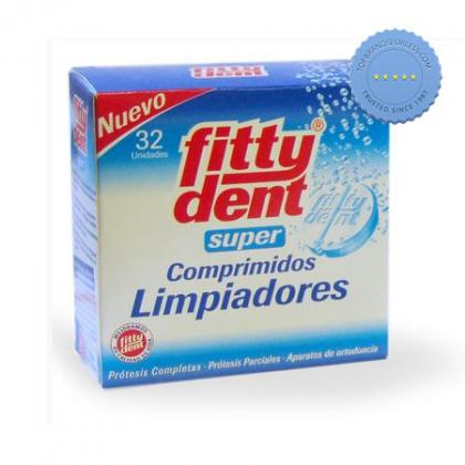 Buy Fitty Dent Super Cleansing 32 Tablets -