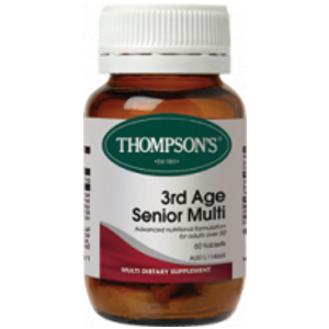 Buy thompsons 3rd age senior multivitamin 60 -