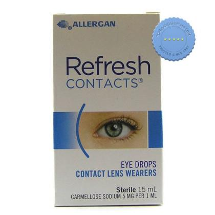 Buy Refresh Contacts Eye Drops 15ml -