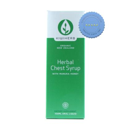 Buy Kiwiherb Herbal Chest Syrup 100ml -