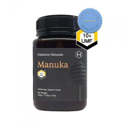 Buy Hakatere Naturals Manuka Honey 10 UMF 500g - Prompt Dispatch