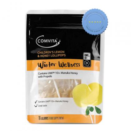 Buy Comvita Childrens Lemon and Honey Lollipops -
