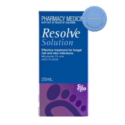 Buy Resolve Fungal Treatment Solution 25ml - Prompt Dispatch