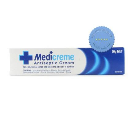 Buy Medicreme Antiseptic Cream 50g -