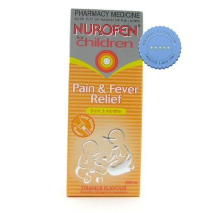 Buy Nurofen Children Orange Liquid 200ml - Childrens Pain Relief