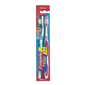 Buy colgate t brush extra clean twin pack -