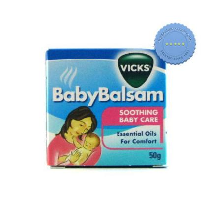 Buy Vicks Baby Balsam 50g -