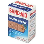 Buy bandaid tough strips reg 20 -