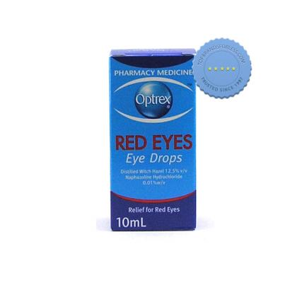 Buy Optrex Red Eyes Drops 10ml -