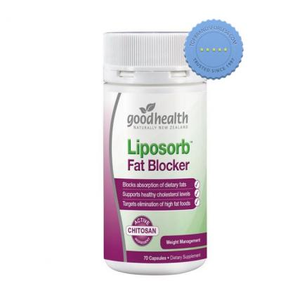 Buy Good Health Lipsors Fat Blocker 70 Capsules - Prompt Dispatch