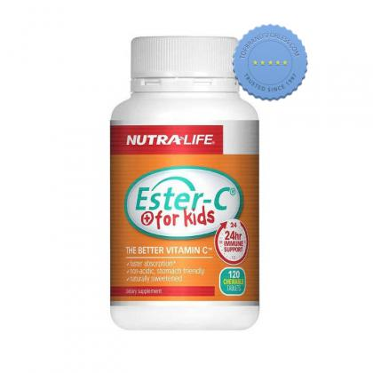Buy NutraLife Ester C for Kids 60 Chewable Tablets