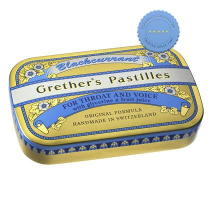Buy Grethers Pastilles Blackcurrant 60g -