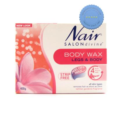 Buy Nair Salon Divine Body Wax Tahitian Gardenia 400g