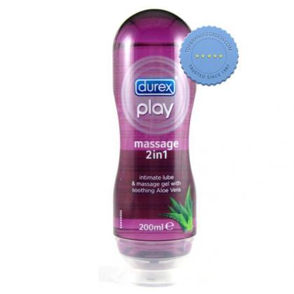 Durex Play 2-in-1 Massage lubricant 200ml | International Shipping |