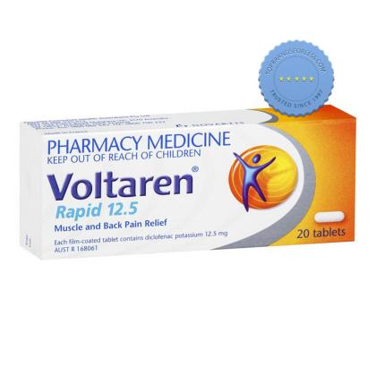 Buy Voltaren Rapid Tablets 12 5mg 20