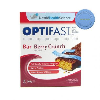 Buy Optifast Berry Crunch Bars Six Pack