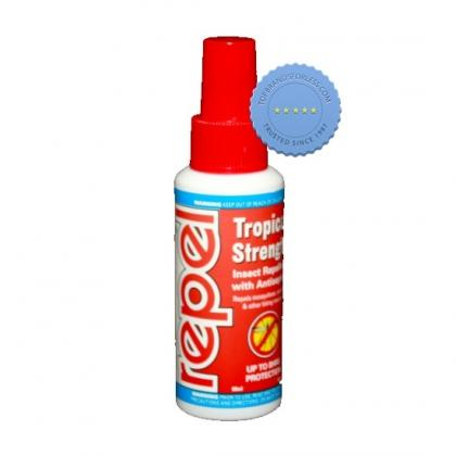 Repel Tropical Strength Pump Spray 60ml