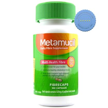 Buy Metamucil Fibrecaps 100