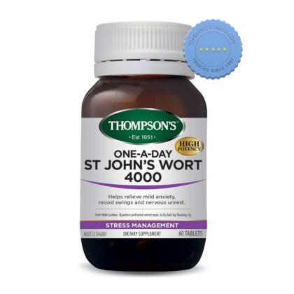 Buy Thompsons One a Day St Johns Wort 4000 60 Tablets -