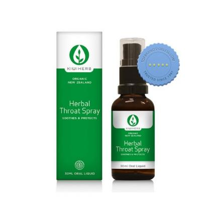 Buy KiwiHerb Herbal Throat Spray 30ml Oral Liquid - Prompt Dispatch