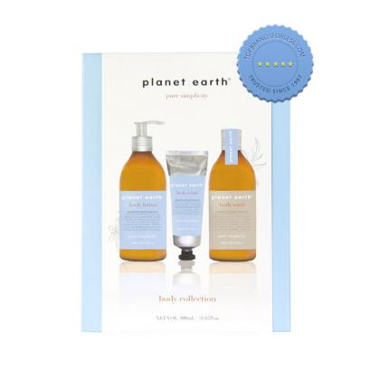 Planet Earth Pure Simplicity Body Collection Grapefruit Ginger Set