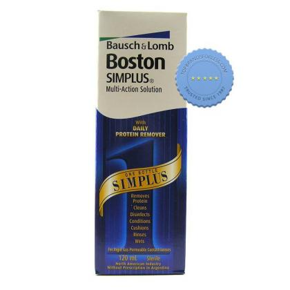Buy Boston Simplus Solution 120ml -