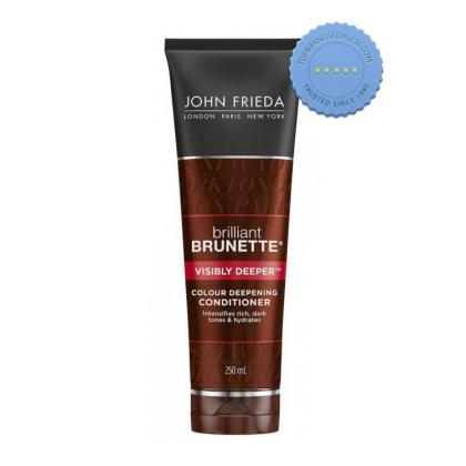Buy John Frieda Brilliant Brunette Colour Deepening Conditioner 250ml
