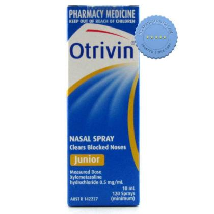 Buy Otrivin Junior Spray 10ml - Childrens Nasal Spray