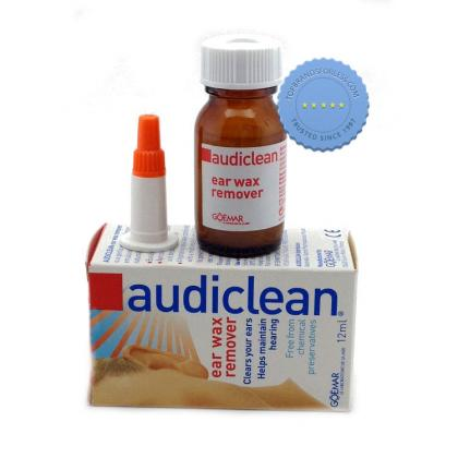 Buy Audiclean Ear Wax Remover Drops 12ml -