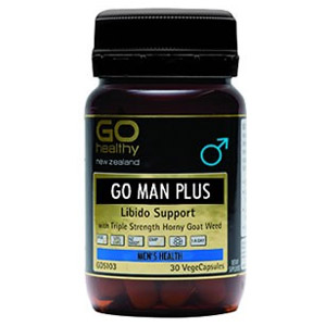 Buy Go Healthy Go Man Plus 30 Vegecaps -
