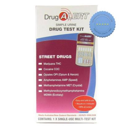 Buy Drug Alert Street Drug Urine Test Kit 1 Pack