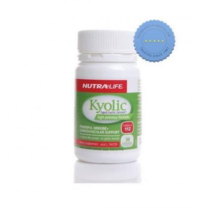 Buy Nutralife Kyolic Aged Garlic Extract High Potency Formula 30 Capsules -