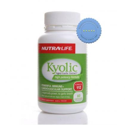 Buy Nutralife Kyolic High Potency 874mg 60 Capsules
