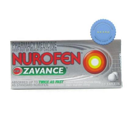 Buy Nurofen Zavance Tablets 48s -