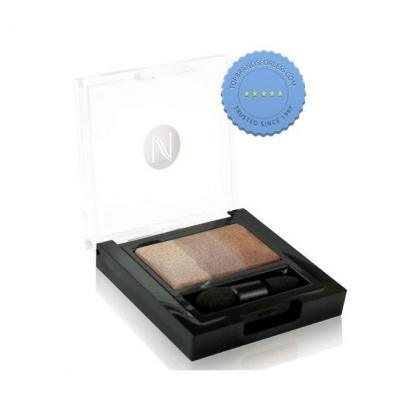 Buy Natio Baked Mineral Eyeshadow Trio Bronzed -
