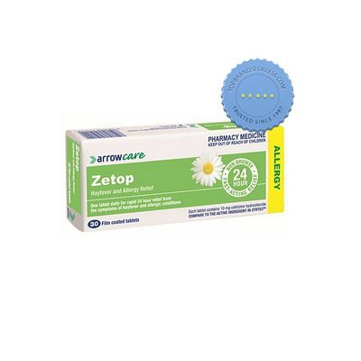 Buy Zetop 10mg 30 Film Coated Tablets - Prompt Dispatch