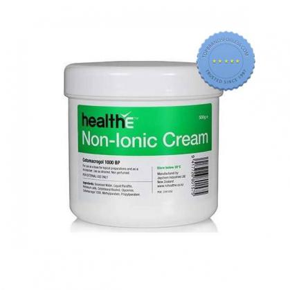 Buy HEALTH E Non Ionic Emollient Cream BP 500g - Prompt Dispatch