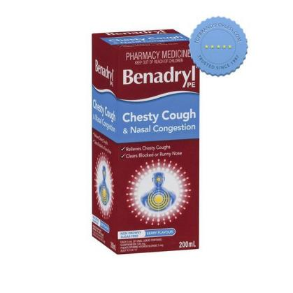Buy benadryl pe chesty nasal 200ml -