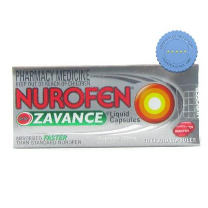 Buy Nurofen Zavance Liquid Capsules 40s -