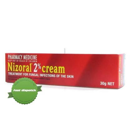 Buy Nizoral 2 Percent Cream 30g -