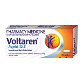 Buy Voltaren Rapid 12 5 Liquid Capsules 20s -