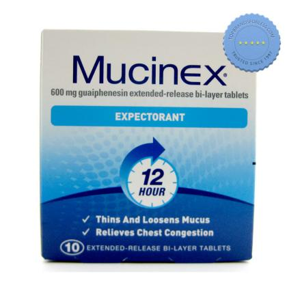 Buy mucinex expect 12 hr tablets 10s -