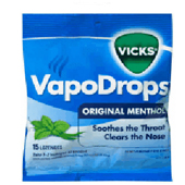 Buy vicks vapodrops original menthol 24 -