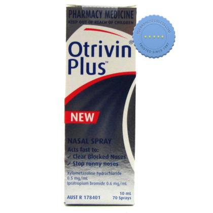Buy Otrivin Plus Nasal Spray 10ml - Ships Fast