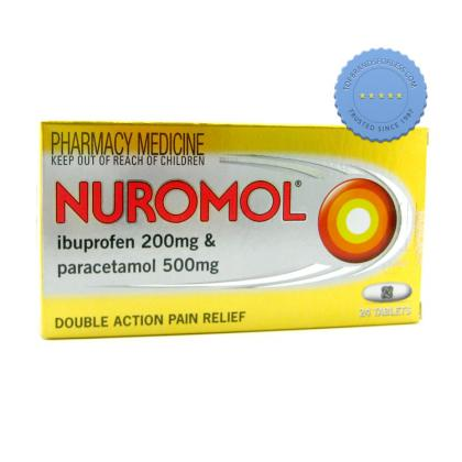 Buy nuromol tablets 24 -