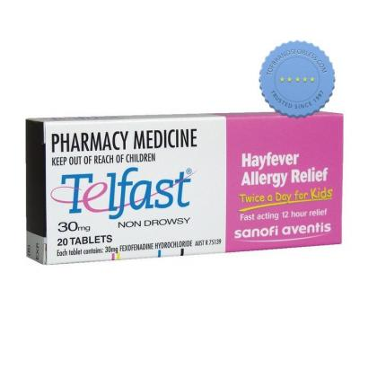 Buy Telfast 30mg Tablets for Children - Prompt Dispatch