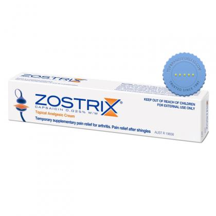 Buy Zostrix 0 025 pc Cream 25 gm - Prompt Dispatch