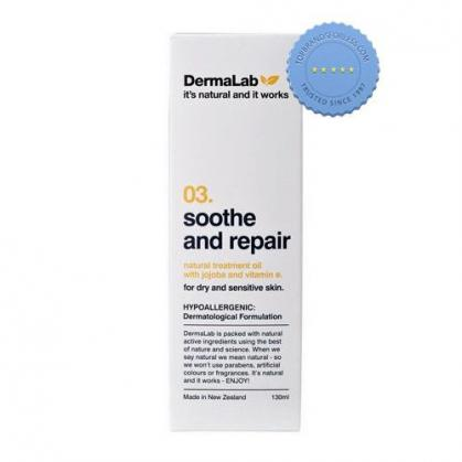 Buy Dermalab Soothe Repair Oil 130ml -